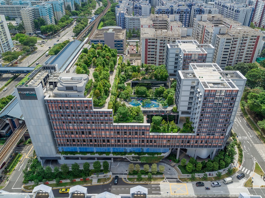 熟齡社區也能這麼美!摘下世界最佳建築的新加坡海軍村Kampung Admiralty