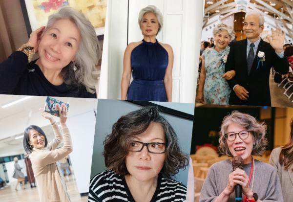 50後不染髮,髮型如何優雅好看?50+讀者白髮造型分享