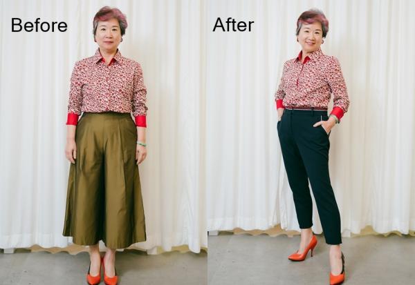 下半身如何穿不顯胖?形象顧問陳麗卿與50+讀者穿搭示範:只換一件就很不一樣