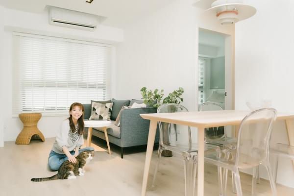 房子少30坪,生活卻更好!室內設計師Phyllis:想把小宅變寬敞,不可不知的看屋、收納與裝潢原則