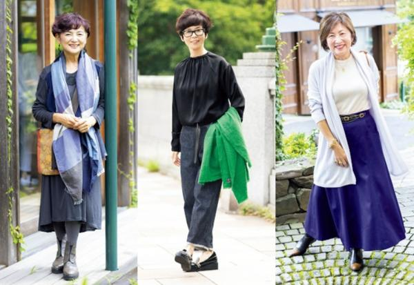向時尚路人學穿搭!50歲到70歲的日本熟齡女子街拍