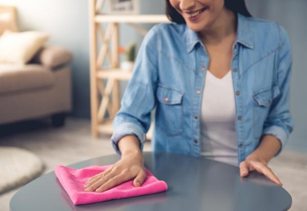 家事不用一次做完!優雅掃除術:一條毛巾對折4次,10分鐘讓家煥然一新