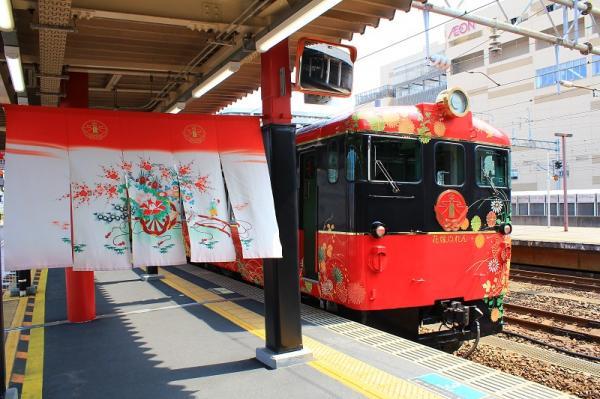 和風美學極致,日本北陸新人氣列車「花嫁暖簾號」之旅