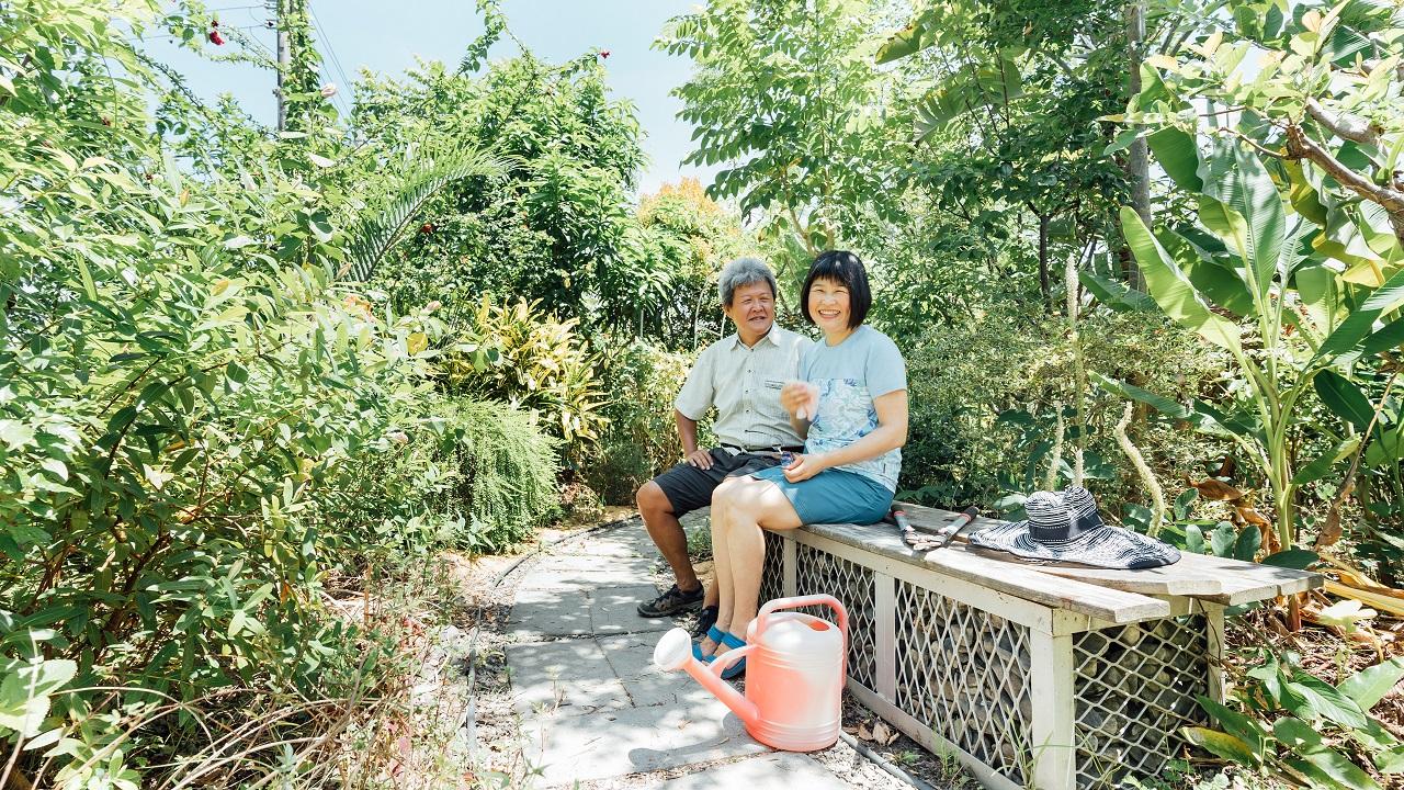這輩子為自己任性一次!園藝家夫婦打造植物之家「融融苑」